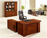 Top Sale in USA luxury wooden office executive table pictures(FOH-A18105)
