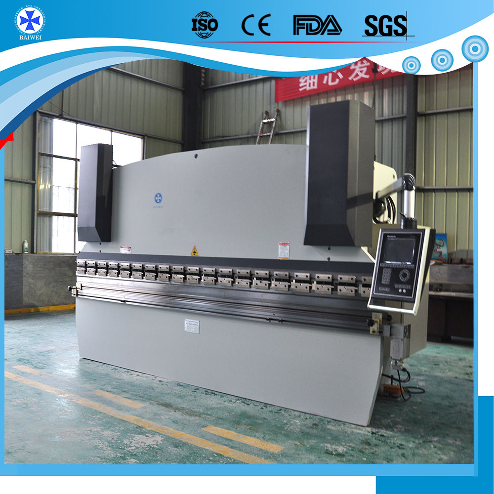 China used CNC hydraulic sheet metal bending machines