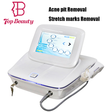 2018 new machine case best fractional rf microneedle skin tightening face lifting machine