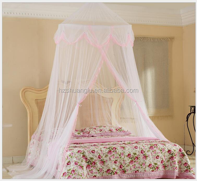polyester bed canopy kids adults portable princess mosquito net tent