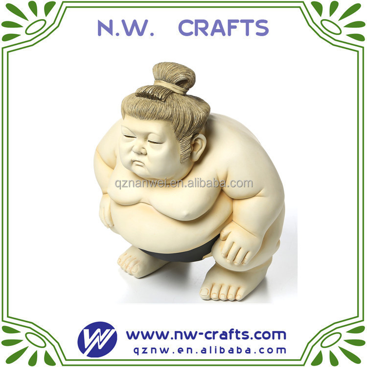 The sumo werstler staues/men statues for home decoration