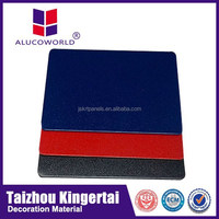 Alucoworld heat resistant wall panels interior wood wall cladding building aluminum composite panel