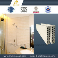 china chengdu waterproof fiber glass panel bathroom wall panels