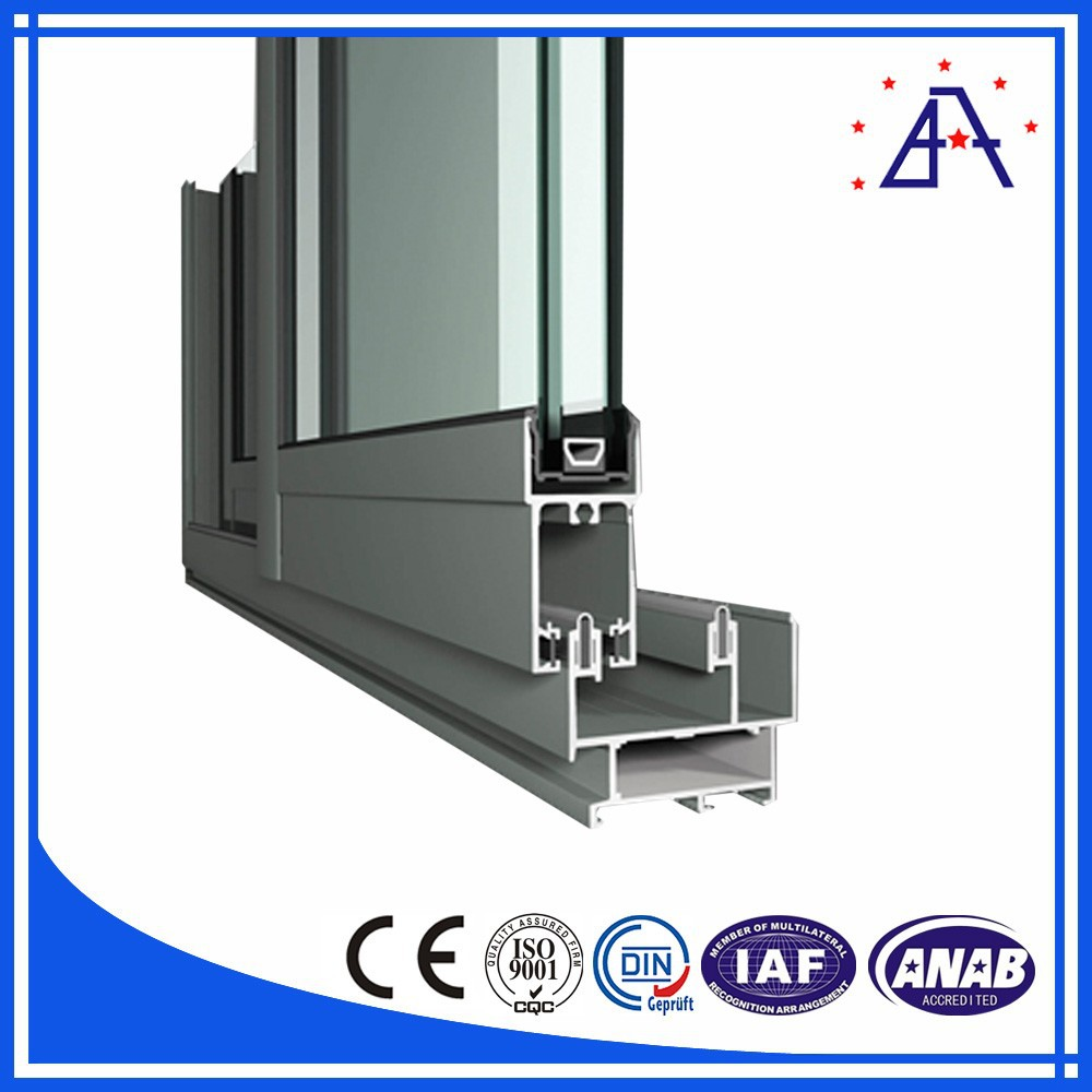 HF-056 Aluminium Window Frame/ Aluminum Jalousie Window Frames