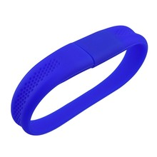 Silicone Bracelet Wrist Band USB 2.0 Flash Drive 2GB 4GB 8GB 16GB Pen Drive Flash Disk Memory Stick Wholesale Gifts