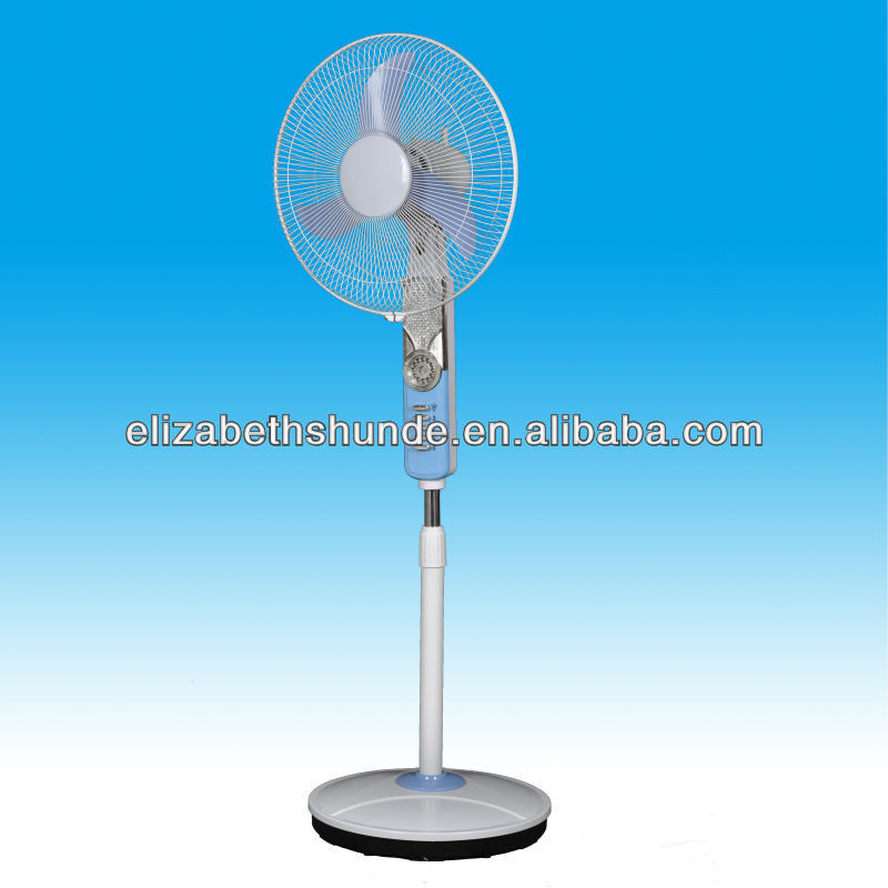 2013 new outdoor emergency stand fan with LED light HF-1603RB]