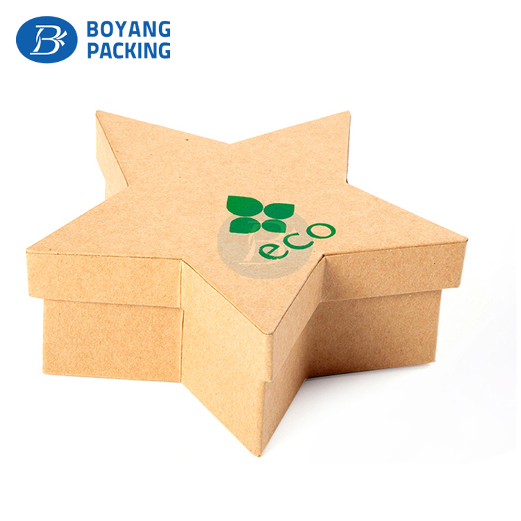 Alibaba Custom Biodegradable Packaging kraft paper carton Box