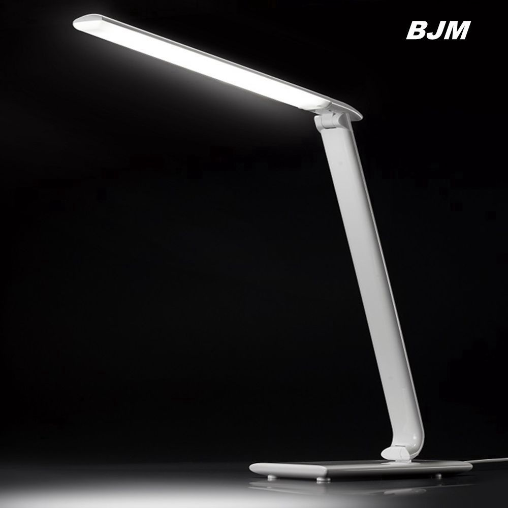 New Release Plastic Pure Black/White Finish USB Port Led table Lamp,led light base