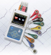ON SALE! Special price! CONTEC 12- Channel Holter ECG System /EKG Recorder, CE,FDA
