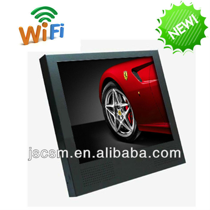 cheap 15/19/22/26/32/42/55 digital signature with HD optional wifi