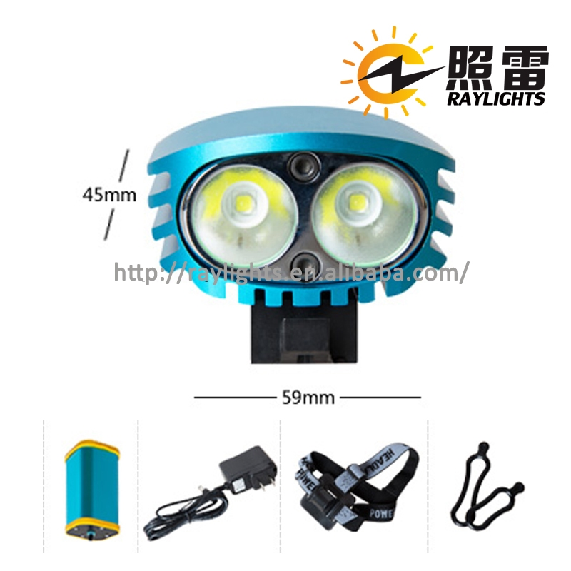 Most powerful bike light dirt bike bike accessories led the lamp for wholesales