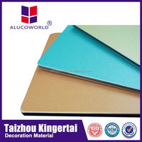 Alucoworld good quality exterior wall cladding carbon fiber sheets building material acp made in china
