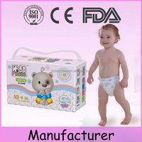 China exported factory 3D lock water system thin breathable susu baby diapers with dry surface