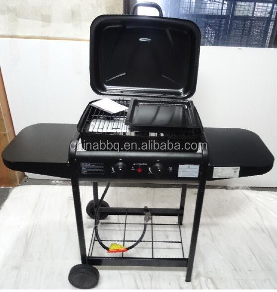 prophane Gas barbecue china GY01 Trolley bbq gas grill
