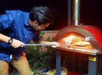 Outdoor Wood Fire Pizza Oven