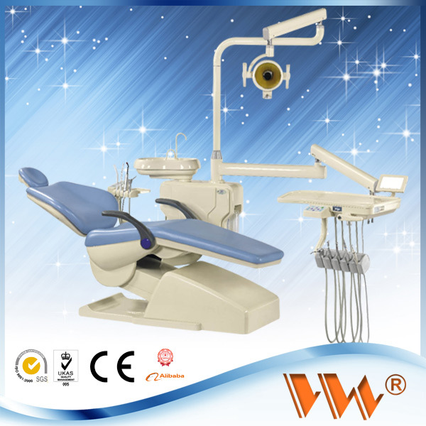 CE mobile dental unit with a suction with mutifunction