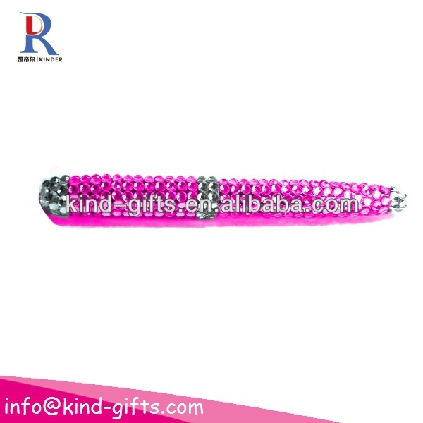 crystals beaded promotional pen KDBP008