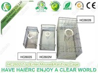 outdoor use multi-function pest control wire rat trap cage