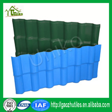 decorative asa coated blue plastic roof tiles spanish