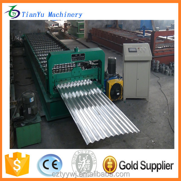 Hot sale machinery corrugated sheets for roofing price