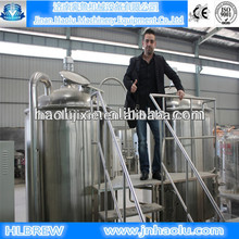 2014 New style Beer brewing equipment, Turnkey Draught beer brewing equipment ,Home/hotel/pub brewery