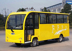 Electric passenger bus with 22 seats
