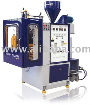 Plastic blow molding machinery low energy consumption for Advanced molding and decoration sa de cv