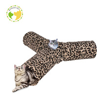 High End Unique Pet Toy 3 Way Cat Tunnel