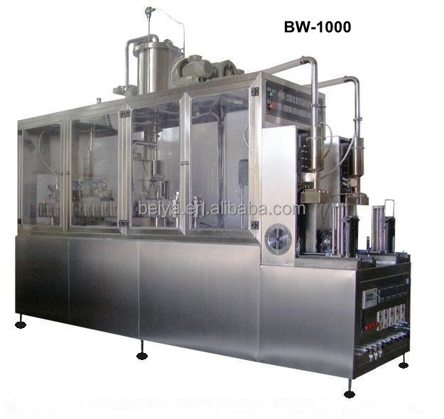 UHT Milk Semi Automatic Box Filling Sealing Machine