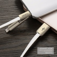 PIPILU New Coming Noodles Design 1 Length Quick Charging Micro USB Cable 2 in 1 Data Cable