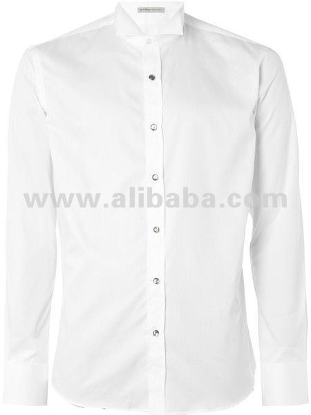 White Wing Collar Shirt