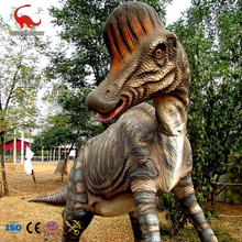real dinosaur park life size animatronic mechanical dinosaur model for playground