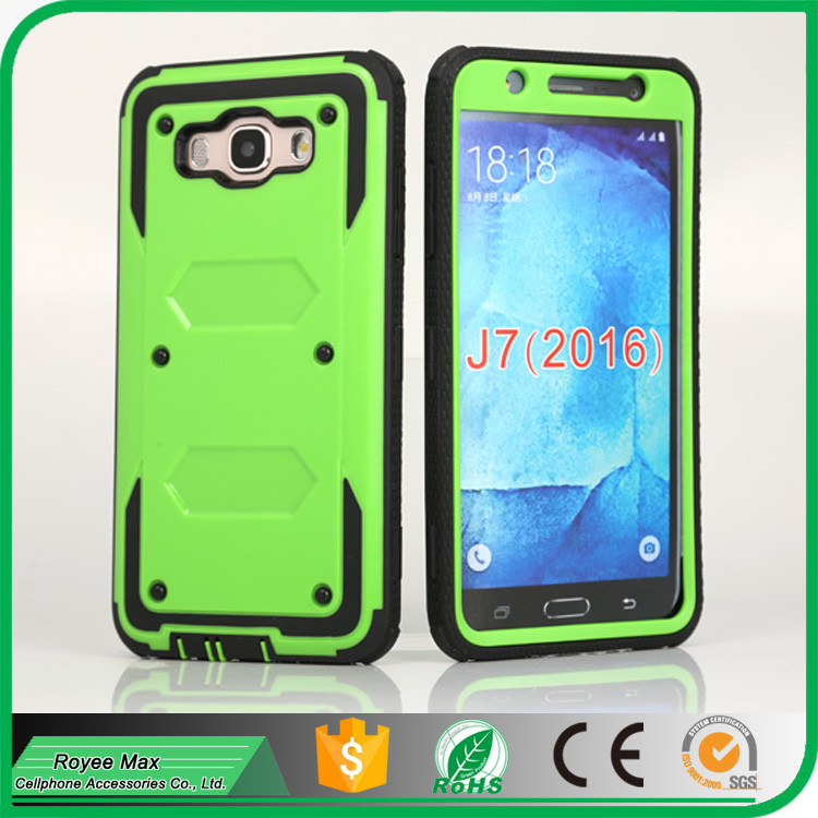 Double Layer Protective Cover with Belt Clip Cell phone Kickstand Holster Armorbox CASE for Samsung J7 J710