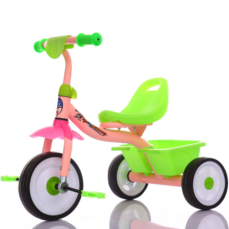 High Quality Steel Baby Tricycle 10 Inch / Kids Tricycle Bike Cheap Price