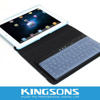 Leather Case For IPAD 3, Smart Case For New IPAD,IPAD2 With Blueteeth Keyboard,Customized Colors And Letters Are Welcome
