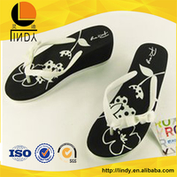 Fashion men and women general rubber flip-flop