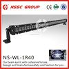 NSSC high quality 40inch 200W car led light bar , cheap led light bars with lifetime warranty