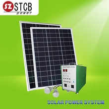 Solar panel and battery and charger with inverter multi-function integrated solar 1000W