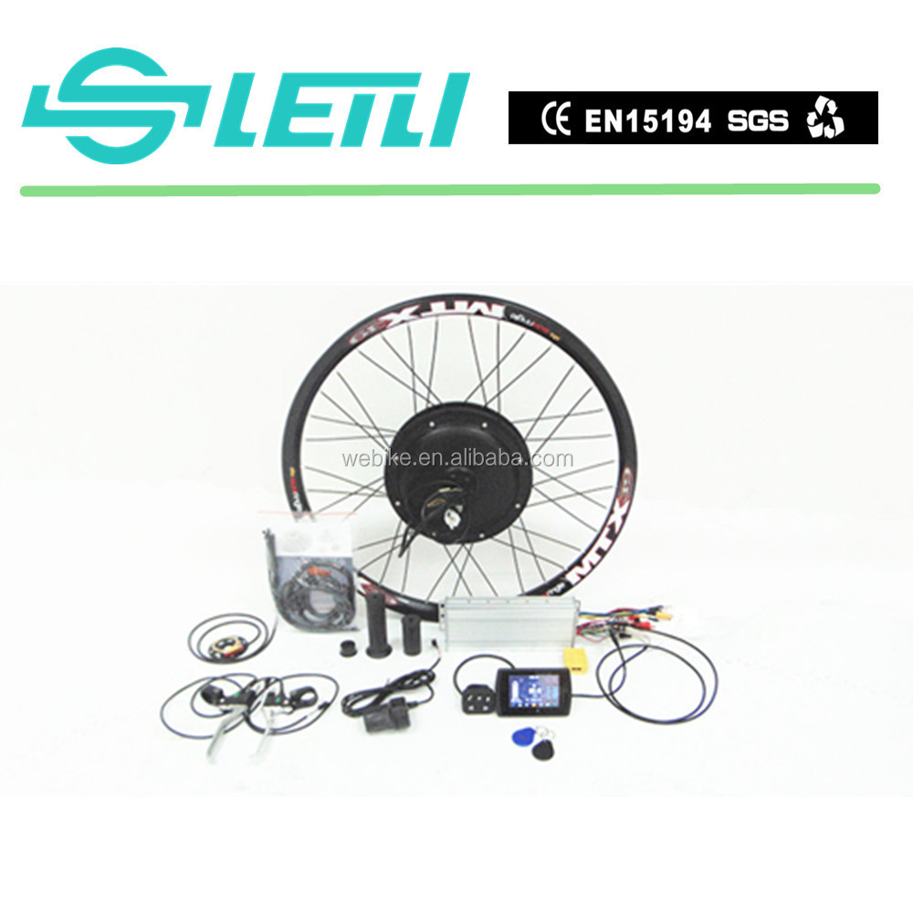 72V 5000W High Power Electric Bike kit With Ce Approval with the TFT display