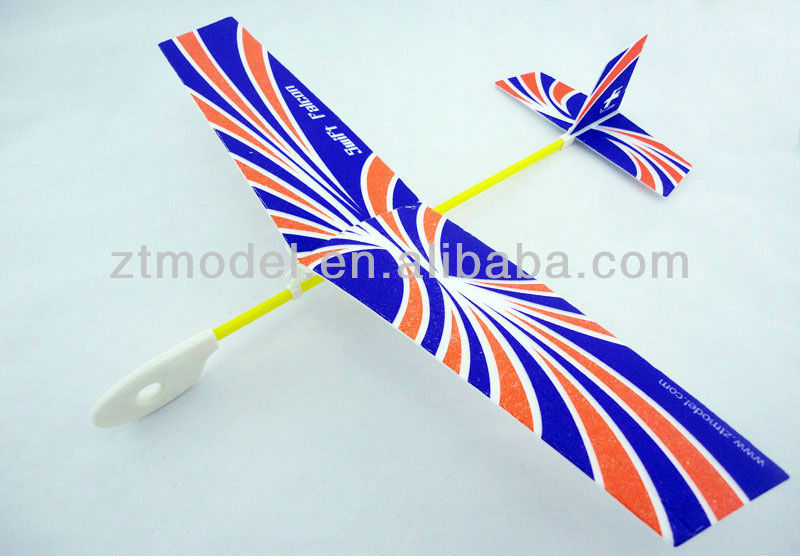 Fly Bird - Swift Flyer Hand Launch Airplane Models Rubber Band Plane