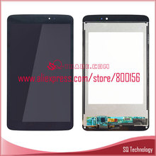 For LG G Pad 8.3 V500 LCD Touch Screen Digitizer Replacement Assembly Black Color