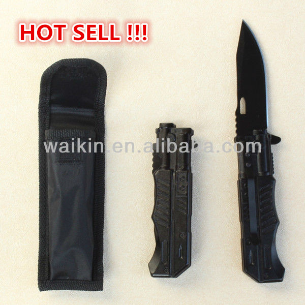 "4.61"" Closed Amazon Best Stainless Steel UK Survival Knife"