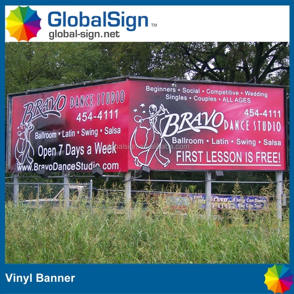 A frame banner signs and banners