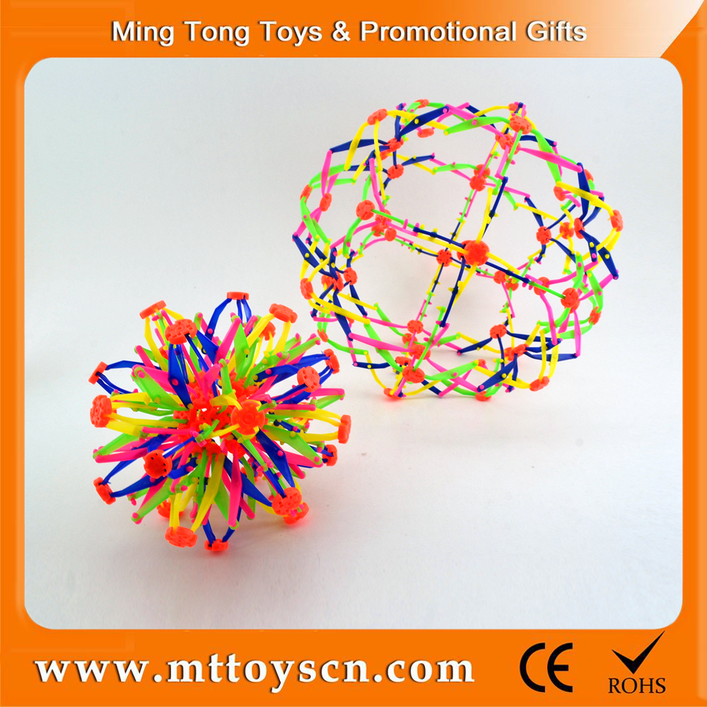 Children plastic flexible size 18 to 32 cm magic ball toy