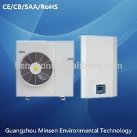 Factory supply DC inverter multi function air source geothermal heat pump