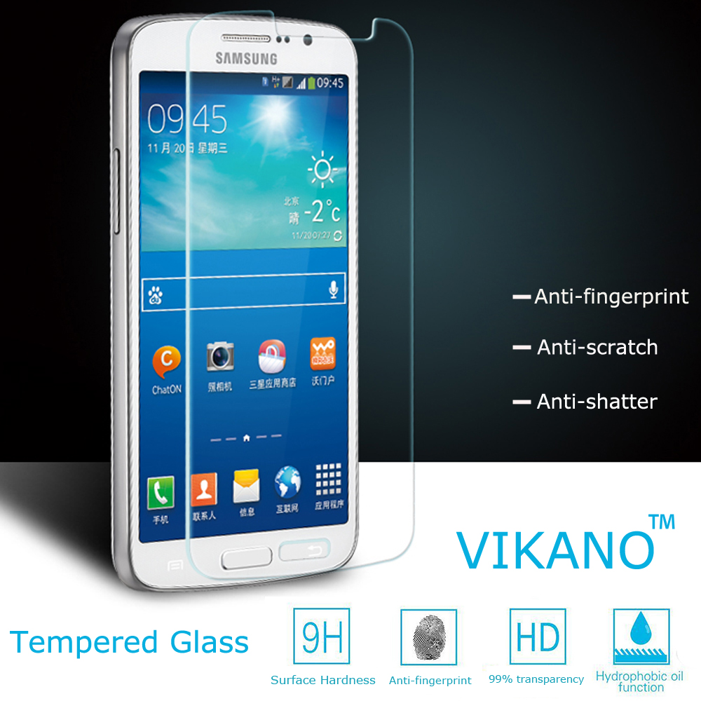 Super Quality Anti shock Round Edge Tempered Glass Screen Protector for Samsung Galaxy S4