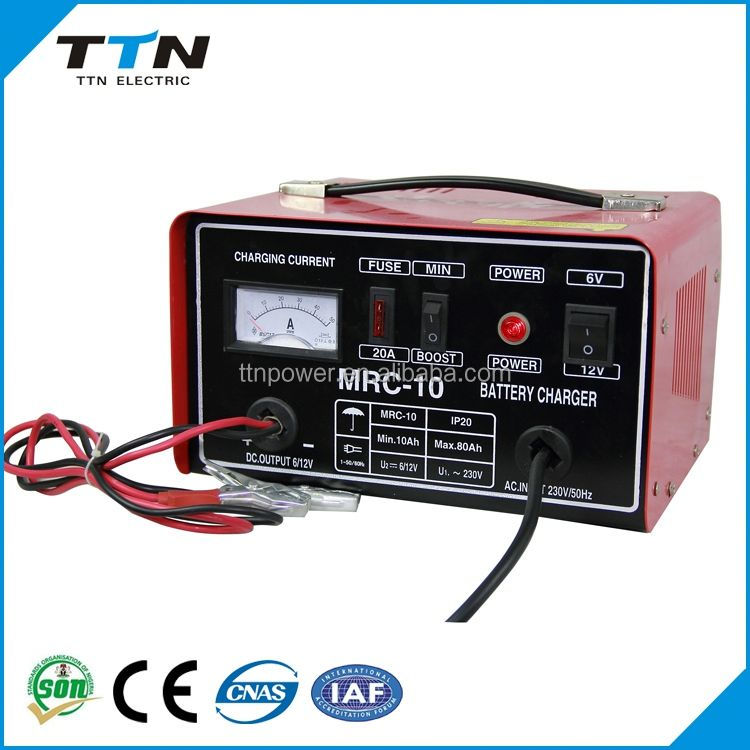 Environmental Battery Charger 12V 60Ah Lead Acid Batteries