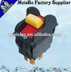 220V 10A rubber push button switches for emergency