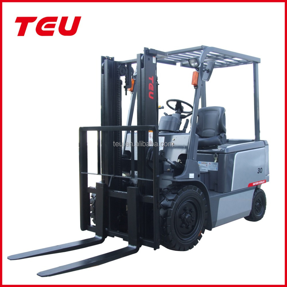 used battery forklift 3 ton