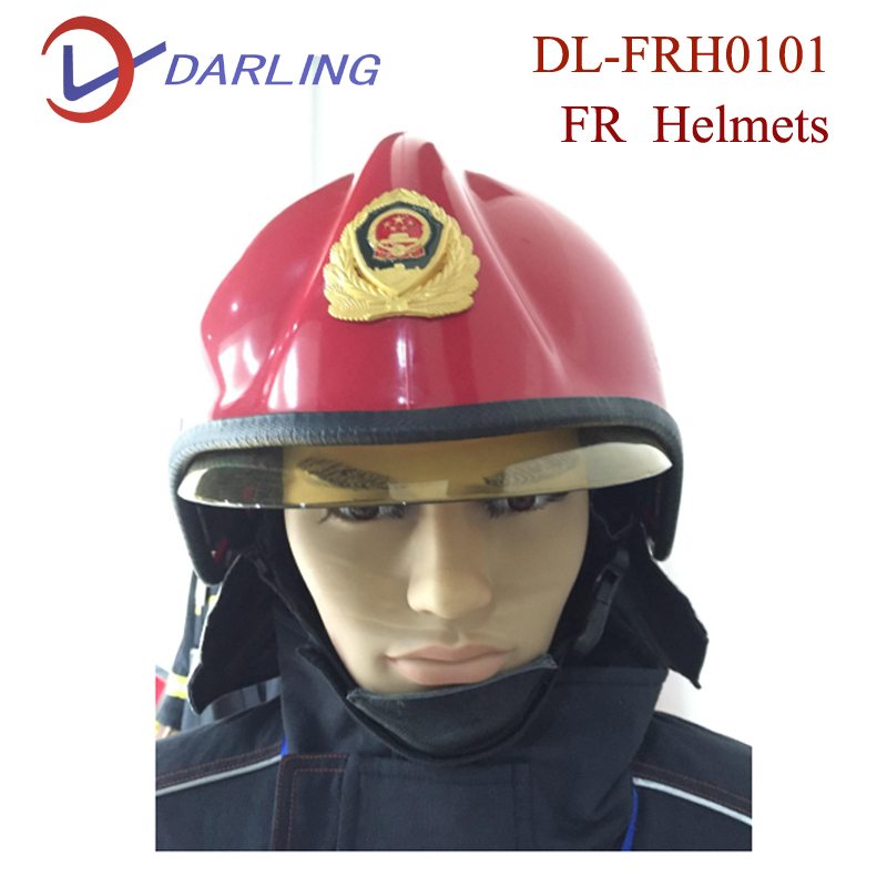 2017 good price Anti-radiation head protection Fire fighting safety helmet